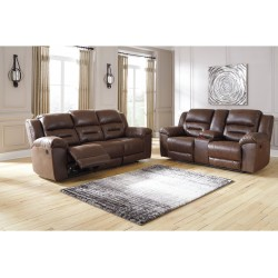 Stoneland Reclining Sofa and Console Loveseat