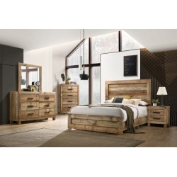 Rustic Antique Bedroom Collection