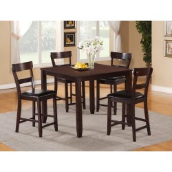 Henderson Counter Height Dinette Set - Cherry