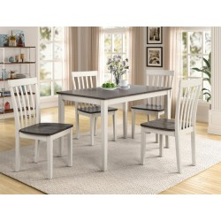 Brody 5pc. Dinette Set - White