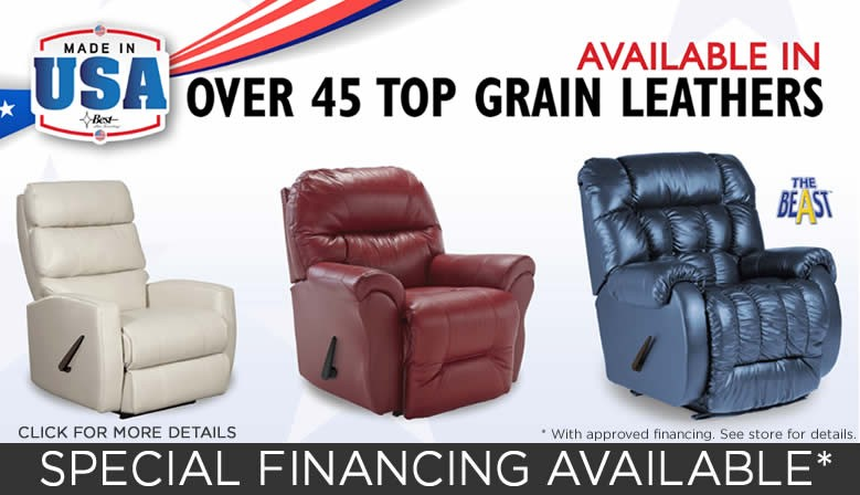 Leather Recliners on Sale