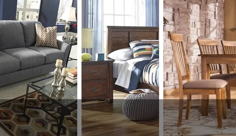 Shop Grubbs Furniture and Appliances for bedroom, living room, and dining furniture by Ashley.