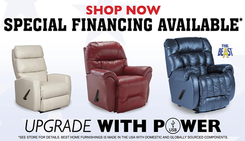 Upgrade with Power Recline